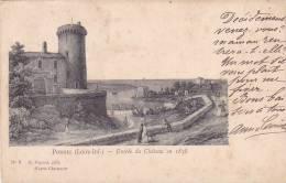 21387 PORNIC - ENTREE DU CHATEAU EN 1838 D'APRES CHARPENTIER - N° 8 Pigeard