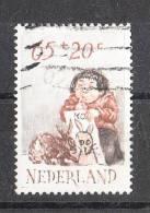 Olanda   -   1982.  Bimbo E Coniglietto.  Child And Bunny - Childhood & Youth