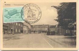 OOSTHAM-GEMEENTEPLAATS-UITG. EUG. GEYSEN-MARIEN-KOSTER-AFGESTEMPELD 1970 - Ham