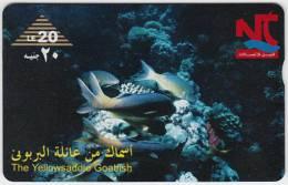 """EGYPT - Optical 001 """"Animal, Sea Life, Yellowsaddle Goatfish"""" - Used - Egypte"""