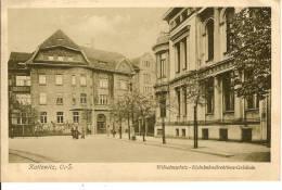 Kattowitz  Wilhelmsplatz-Kleinbahndirektions-Gebaude - Deutschland