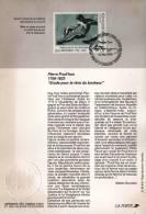 *FRANCIA - PIERRE PRUD´HON* - Bollettino FDC - 1990-1999