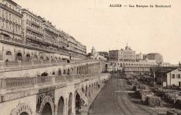 Alger Les Rampes Du Boulevard Animée - Algerien