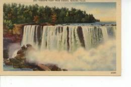 Terrapin Point From Canada Niagara Falls 1938 - Chutes Du Niagara