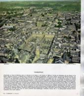 CHARLEVILLE  1963  /  CENTRE VILLE ENVIRONS DE LA PLACE DUCALE   /    PHOTO FORMAT 24X20CM EDITION 1963 - Lieux