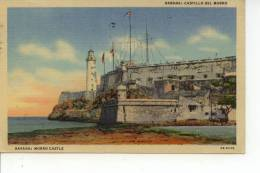 Habana Castillo Del Moro, Havana Morro Castle Cuba 1952 - Cuba