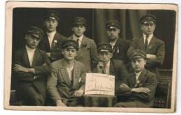 """Fotokaart, Photocarte, Militaires """"Luxembourg, La Salamandre, 3722""""  (pk6472) - Regiments"""