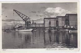 D069 / Kiel -  Partie An Der Germania Werft / 1939 - Kiel