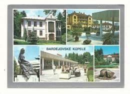 Cp, Slovaquie, Bardejovské Kupele, Multi-Vues, écrite - Slovaquie