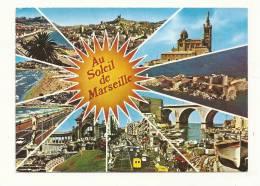 Cp, 13, Marseille, Multi-Vue, Voyagée - Non Classificati