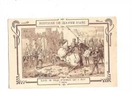 """JEANNE D´ARC. - Histoire De J. D´Arc. N°8. Orléans. (Cachet """"Chicorée Extra, à La Belle Jardinière, C. Beriot à Lille) - Personnages Historiques"""
