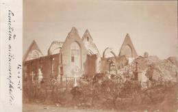 Cimetière De RAMSCAPPELLE 12 -4- 1915 Ander Zicht Zeldzame Foto Kaart (2 Scans) - Nieuwpoort