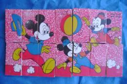 PFA/38 GIOCO PUZZLE GADGET WALT DISNEY TOPOLINO SUCI MUGGIO Anni ´60 - Disney