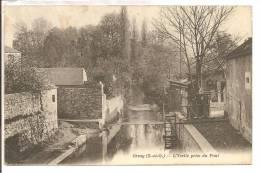 91 -  ORSAY  -  L' Yvette Prise Du Pont   -  C'est L'endroit Où L'on Puise L'eau Avec Le Seau Suspendu - Orsay