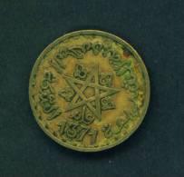 MOROCCO  -  1371 (Hejira Date)  20 Francs  Circulated As Scan - Morocco