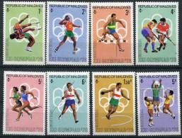 Maldives                        610/617  **         J.O De Montréal - Maldivas (1965-...)