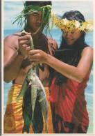 Tahiti - Young Polynesian Couple  - CPM° - Tahiti