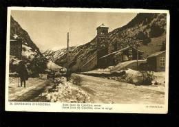P 2012 11 11 Andorre . La Maravilla N° 36 Saint Jean De Caselles Sous La Neuige. - Andorra