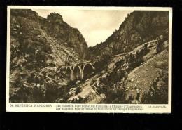 P 2012 11 11 Andorre . La Maravilla N° 34 Les Escaldes Pont Et Tunnel Du Funiculaire De L'étang D'engolasters - Andorra