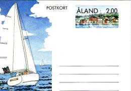 *FINLANDIA: ALAND* - Cartolina Postale - Finlandia