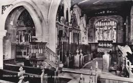 GREAT BRINGTON - CHURCH OF ST MARY THE VIRGIN INTERIOR - Northamptonshire
