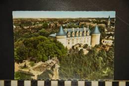 87 -   CHATEAU DE ROCHECHOUART -  N°7 EDITIONS LAPIE  EN AVION AU DESSUS DE... - Châteaux D'eau & éoliennes