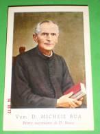 Ven.Beato Michele Rua  (Torino ) - 1° Successore Don Bosco-  Santino Vecchio Serie A.L.M.A. - Images Religieuses