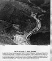 THAON LES VOSGES SAVERNE 1963   / METIER LA SCIERIE PRES VOIE FERREE ET CANAL PHOTO FORMAT 24X20CM EDITION 1963 - Métiers