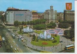 (AKP392) BARCELONA. PLAZA DE CATALUÑA ... UNUSED - Barcelona