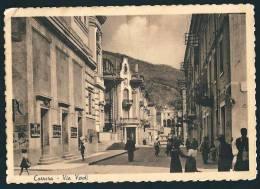 CARRARA - VIA VERDI - F/g - V: 1952 - ANIMATA - Carrara