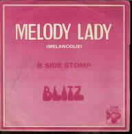 "45 Tours SP - BLITZ  - EURODISC 12808  "" MELODY LADY "" + 1 - Other - English Music"