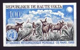 Haute Volta Timbre Nf.av.g.non Dentelé N°64 1969 - Opper-Volta (1958-1984)
