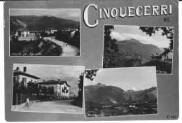 CINQUECERRI (RE) - VEDUTINE - F/g - V: 1956 - Reggio Emilia