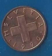 CH--036. Piece De 0.01 Centimes De 1990, Lettre B - Voir Scan Pour Detail , PEU COURANT !! - Suiza