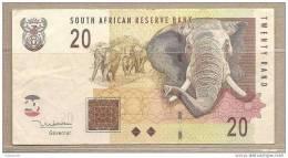 Sudafrica - Banconota Circolata Da 20 Rand - 2005 - Sudafrica