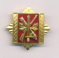 YUGOSLAVIA - SFRJ * ARMY STAFF AND COMMANDING ACADEMY 1971-1991  , RARE BREAST BADGE - Abzeichen & Ordensbänder