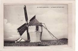 BATZ Sur MER (44) / MOULINS / MOULINS A VENT / Le Moulin De Kermoisan - Batz-sur-Mer (Bourg De B.)