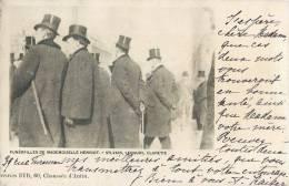 FUNERAILLES DE MADEMOISELLE HENRIOT ACTRICE THEATRE SYLVAIN LEBAUGY CLARETIE 1900 - Femmes Célèbres