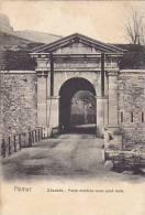 Belgium Namur Citadelle Porte d'entree avec pont levis