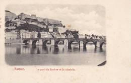 Belgium Namur Le pont de Jambes et la citadelle