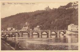 Belgium Pont de Jambes et Chateau de Namur