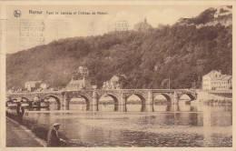 Belgium Namur Pont de Jambes et Chateau de Namur 1938
