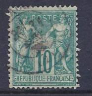 France, Scott # 68 Used Sage, 1876 - 1876-1878 Sage (Type I)