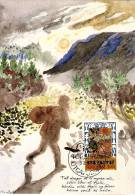 *FAROER - ANTICHE BALLATE FAEROESI* - Cartoline Maximum (Serie Completa) - Isole Faroer