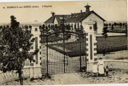 10 ROMILLY-SUR-SEINE - L'Hôpital - Animée - Romilly-sur-Seine