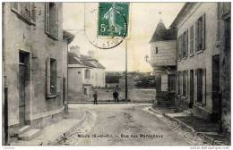 78-MAULE- Rue Des Maréchaux-1908 - Maule