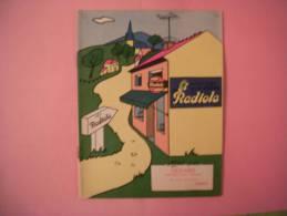 VICHY ALBUM A COLORIER RADIOLA OFFERT PAR GERARD 42 RUE DE PARIS - Publicités
