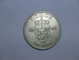 Noruega 50 Ore 1954 (4548) - Noruega