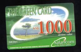 KENYA - 1000 Ksh PHONECARD - 31 - 07 - 2004 - - Kenya