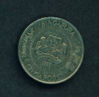 SINGAPORE  -  1986  50 Cents  Circulated As Scan - Singapore